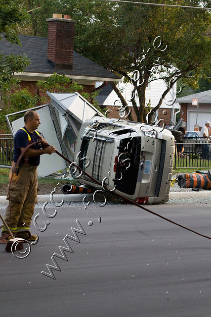 SUV Roll Over 1